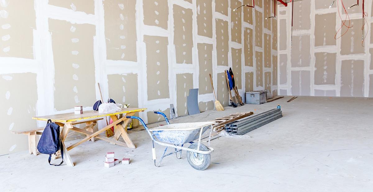 Come realizzare delle pareti in cartongesso