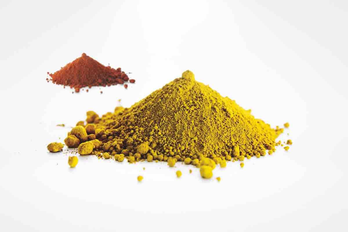 I pigmenti minerali